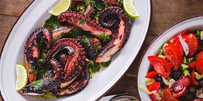 octopus in Greece