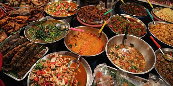 street food markets in Bangkok