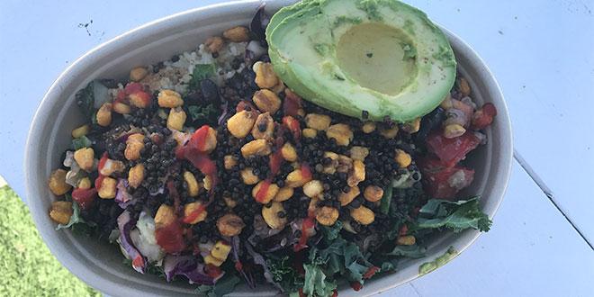 the tazon vegan bowl