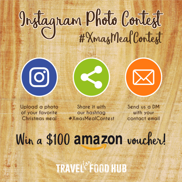 Instagram Christmas Meal Contest