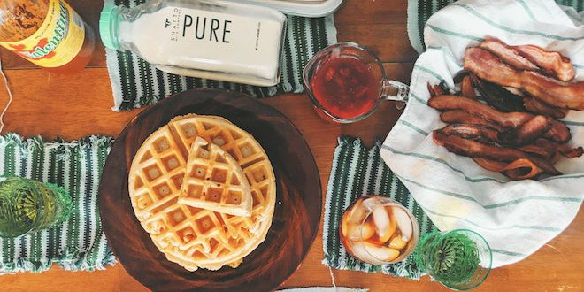 7 Waffle Recipes for Lunch Dinner and Breakfast