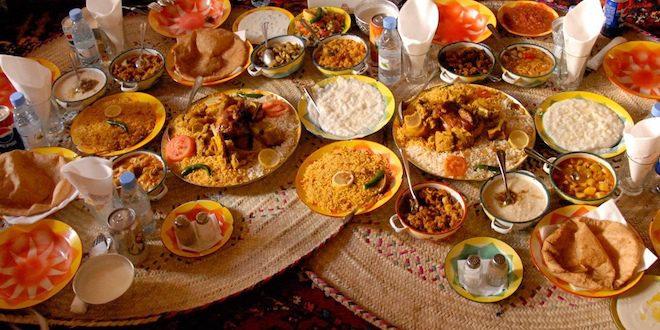 Dishes in Saudi Arabia