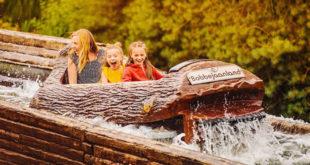 The best attractions for children in Bobbejaanland, Belgium